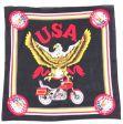 Bandana>USA Eagle Motorcycle