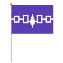 "12""x18"" Flag>Iroquois"