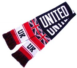 Scarf Knitted>United kingdom