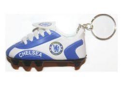 Soccer Shoe Keychain>Chelsea