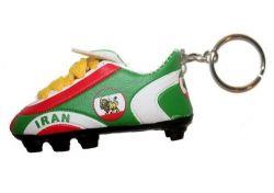 Soccer Shoe Keychain>Iran