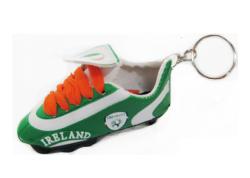 Soccer Shoe Keychain>Ireland