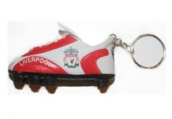 Soccer Shoe Keychain>Liverpool