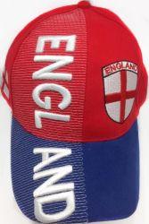 Cap > England 3D Emb.
