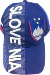 Cap>Slovenia 3D Emb.