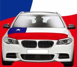 Car Hood Flag>Chile