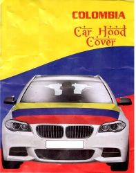 Car Hood Flag>Colombia