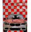 Car Hood Flag>Croatia