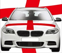 Car Hood Flag>England