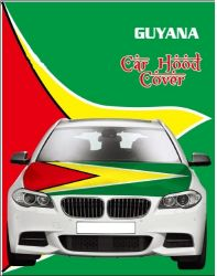 Car Hood Flag>Guyana