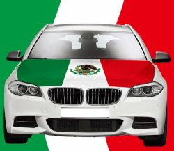 Car Hood Flag>Mexico
