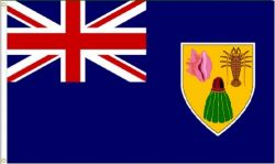 3'x5'>Turks and Caicos