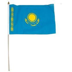 """12""""x18"""" Flag>Kazakhstan"""