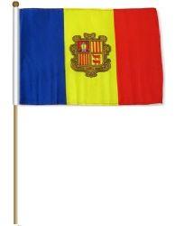 "12""x18"" Flag>Andorra"