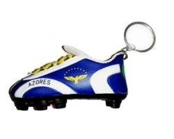 Soccer Shoe Keychain>Azores