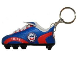 Soccer Shoe Keychain>Chile