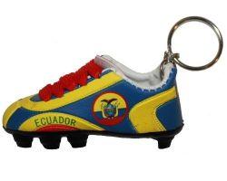 Soccer Shoe Keychain>Ecuador