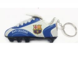 Soccer Shoe Keychain>Barcelona