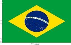 Flag 4.5x9ft>Brazil Premium