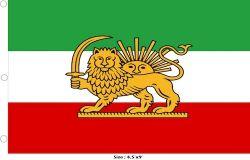 Flag 4.5x9ft>Iran Lion Premium