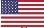 Flag 4.5x9ft>USA Premium